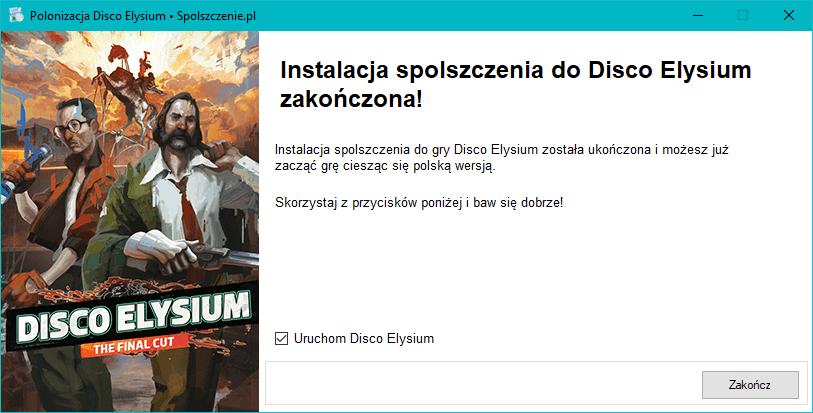 Disco Elysium spolszczenie download