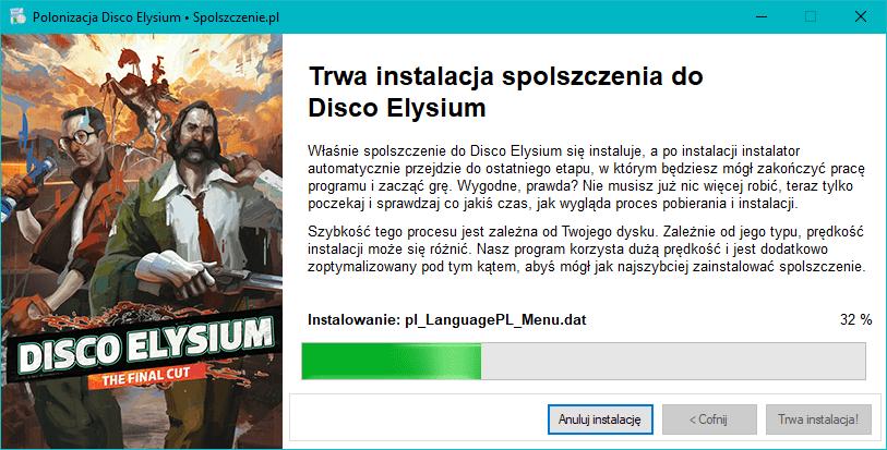 Disco Elysium polska wersja