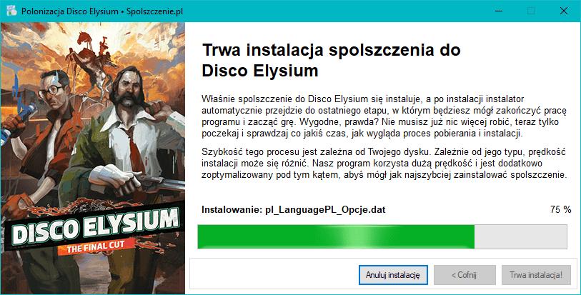 Disco Elysium polonizacja