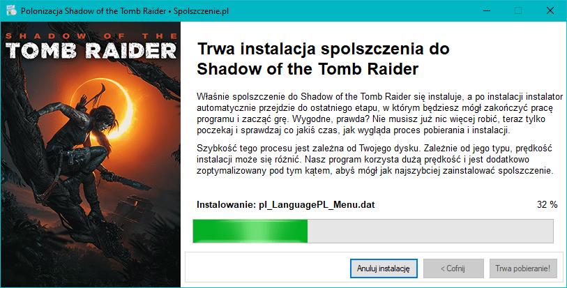 Shadow of the Tomb Raider polska wersja